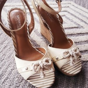 Sperry Nautical wedges